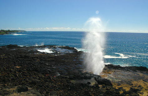 Spouting Horn and Poipu